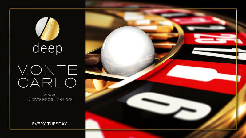 Κάθε Τρίτη το Νυχτερινό Κέντρο Deep Club μεταμορφώνεται σε Monte Carlo της διασκέδασης!
